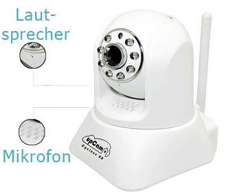upCam Cyclone HD IP Kamera